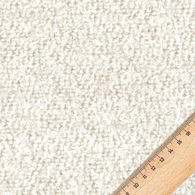 Bukle Döşemelik Beyaz Kumaş Teddy 00