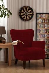 Kumaşçı Home - Bukle Döşemelik Kırmızı Kumaş Teddy 33 (1)