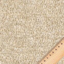 Kumaşçı Home - Bukle Döşemelik Koyu Krem Kumaş Teddy 14