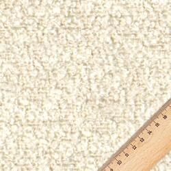 Kumaşçı Home - Bukle Döşemelik Krem Kumaş Teddy 04