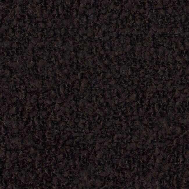 Bukle Döşemelik Siyah Kumaş Teddy 02