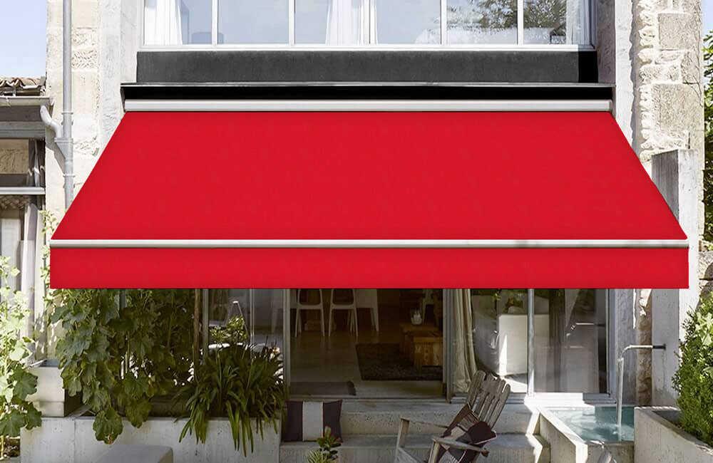 Corti Kırmızı Tentelik Kumaş 8000-355