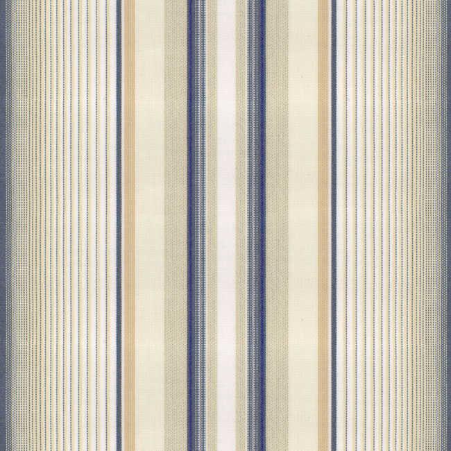 Corti Lacivert Gri Çizgili Tentelik Kumaş 8000-563