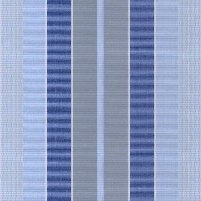 Corti Mavi Gri Çizgili Tentelik Kumaş 8000-875