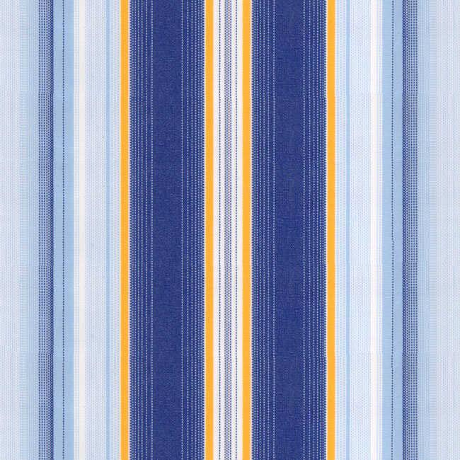 Corti Sarı Mavi Çizgili Tentelik Kumaş 8000-645