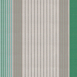CORTİ - Corti Yeşil Gri Çizgili Tentelik Kumaş 8000-505