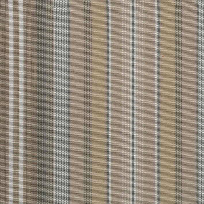 Döşemelik Akrilik Kumaş Kahve Çizgili Agora Rayure Beige 3787