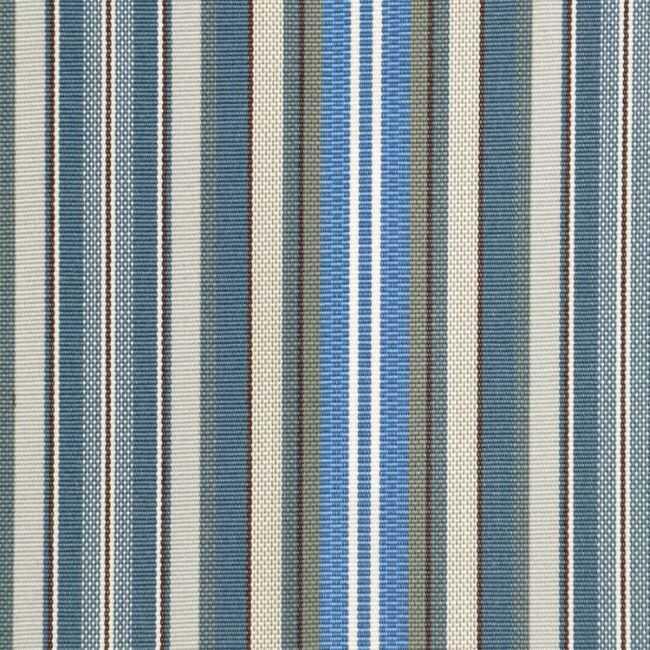 Döşemelik Akrilik Kumaş Mavi Çizgili Agora Rayure Azul 3786