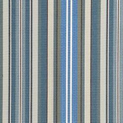 Agora - Döşemelik Akrilik Kumaş Mavi Çizgili Agora Rayure Azul 3786