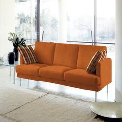 Kumaşçı Home - Döşemelik Oranj Keten Kumaş Mirla 50300 (1)