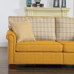 Döşemelik Sarı Keten Kumaş Liam 50-2200 - Thumbnail