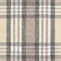 Kumaşçı Home - Ekose Keten Döşemelik Kumaş Tijen 60 - 1200