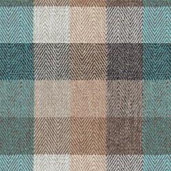 Kumaşçı Home - Ekose Keten Döşemelik Kumaş Tijen 60 - 1650