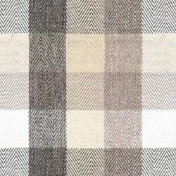 Kumaşçı Home - Ekose Keten Döşemelik Kumaş Tijen 60 - 1700