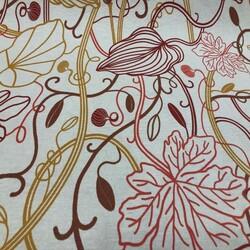 Kumaşçı Home - Karışık Çiçekli Duck Kumaşı