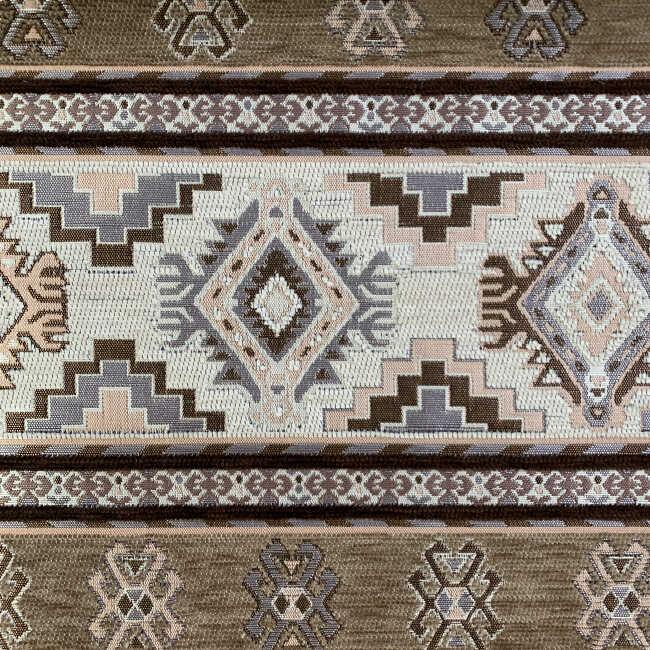 Kilim Desenli Kumaş Tarih 9100 A