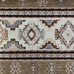 Kumaşçı Home - Kilim Desenli Kumaş Tarih 9100 A