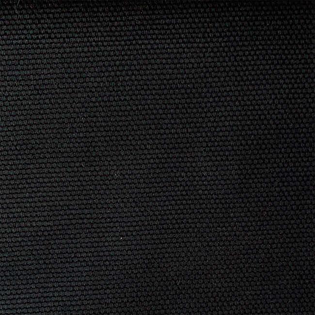 Pamuklu Döşemelik Siyah Kanvas Kumaş 1028