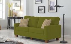 Kumaşçı Home - Pamuklu Döşemelik Yeşil Kanvas Kumaş 1014 (1)