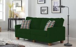 Kumaşçı Home - Pamuklu Döşemelik Yeşil Kanvas Kumaş 1016 (1)