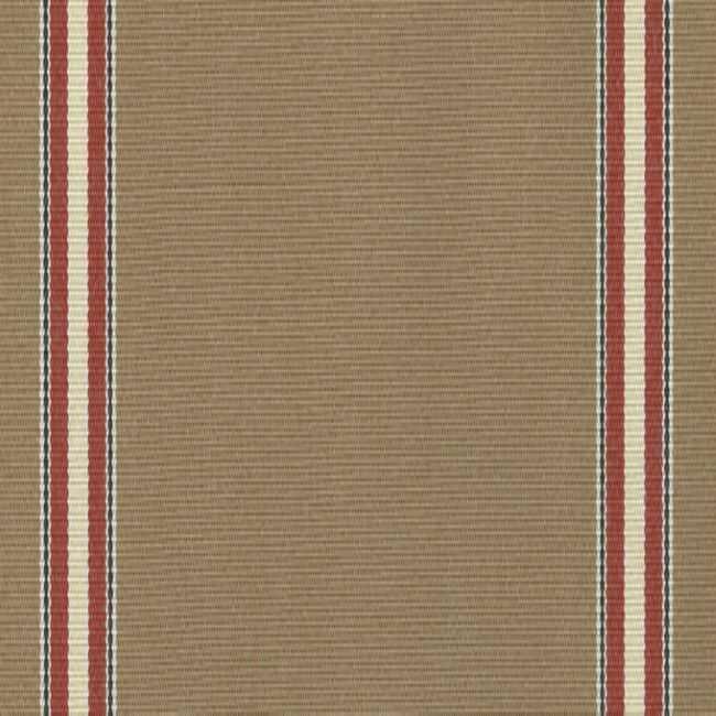 Sauleda Bordo Kahverengi Çizgili Tentelik Kumaş Pirineos 2790