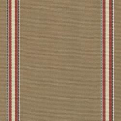 Sauleda - Sauleda Bordo Kahverengi Çizgili Tentelik Kumaş Pirineos 2790