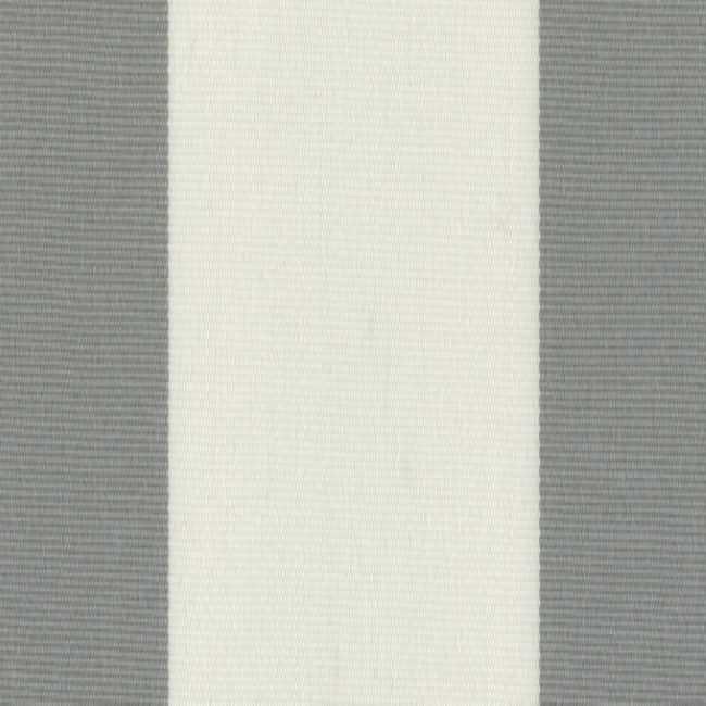 Sauleda Gri Beyaz Çizgili Tentelik Kumaş Gris-N 2103