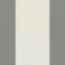 Sauleda - Sauleda Gri Beyaz Çizgili Tentelik Kumaş Gris-N 2103