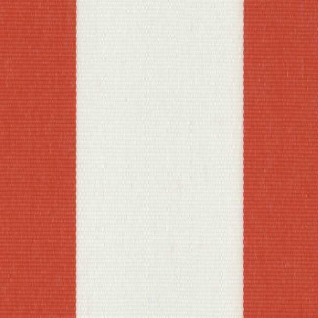 Sauleda Kırmızı Beyaz Çizgili Tentelik Kumaş Rojo -N 2212