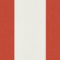 Sauleda - Sauleda Kırmızı Beyaz Çizgili Tentelik Kumaş Rojo -N 2212