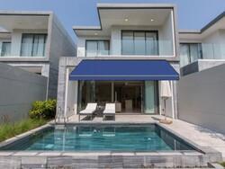 Sauleda Mavi Tentelik Kumaş Azul Real 2235 - Thumbnail
