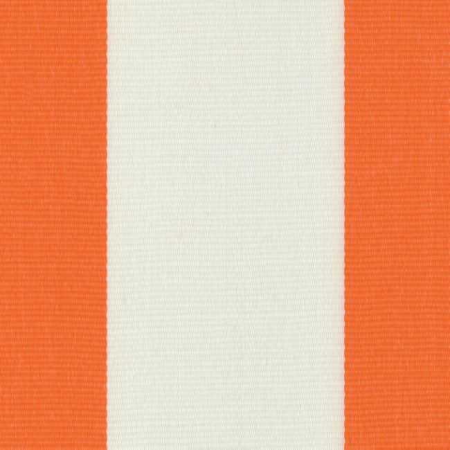 Sauleda Oranj Beyaz Çizgili Tentelik Kumaş Naranja-N 2052