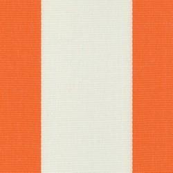 Sauleda - Sauleda Oranj Beyaz Çizgili Tentelik Kumaş Naranja-N 2052