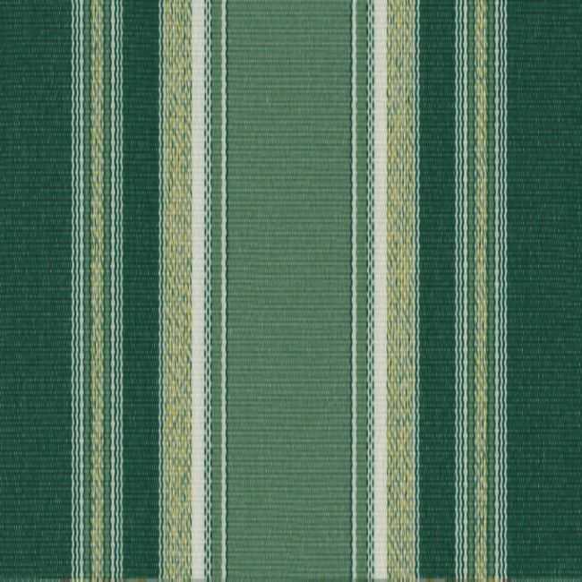 Sauleda Yeşil Beyaz Çizgili Tentelik Kumaş Aries 2576