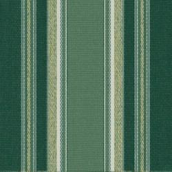 Sauleda - Sauleda Yeşil Beyaz Çizgili Tentelik Kumaş Aries 2576