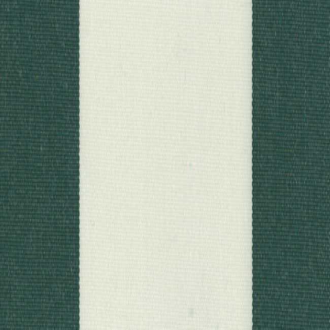 Sauleda Yeşil Beyaz Çizgili Tentelik Kumaş Botella -N 2680