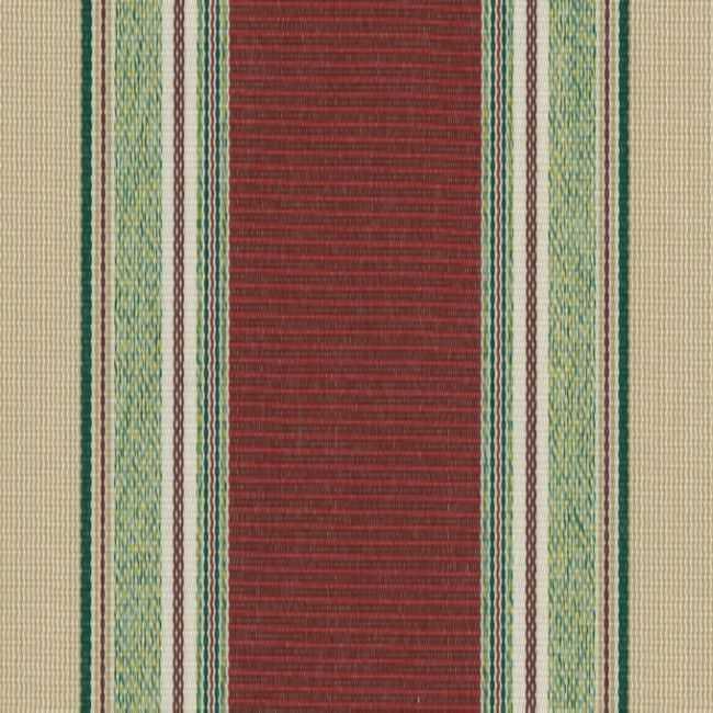 Sauleda Yeşil Bordo Çizgili Tentelik Kumaş 2566