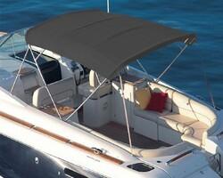 Sunbrella Plus Charcoal Grey Tekne Kumaşı Suntt 5049 152 - Thumbnail