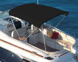 Sunbrella - Sunbrella Plus Charcoal Pıque Tekne Kumaşı Suntt 5088 152 (1)
