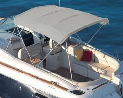 Sunbrella - Sunbrella Plus Silver Tekne Kumaşı Suntt 5035 152 (1)